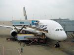 yabyanさんが、香港国際空港で撮影したシンガポール航空 A380-841の航空フォト(飛行機 写真・画像)