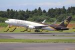 sumihan_2010さんが、成田国際空港で撮影したUPS航空 767-34AF/ERの航空フォト(写真)