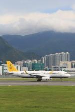 安芸あすかさんが、香港国際空港で撮影したロイヤルブルネイ航空 A320-232の航空フォト(写真)
