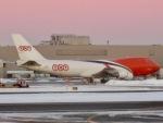 マッペケさんが、ジョン・F・ケネディ国際空港で撮影したTNT航空 747-4HAF/ER/SCDの航空フォト(写真)
