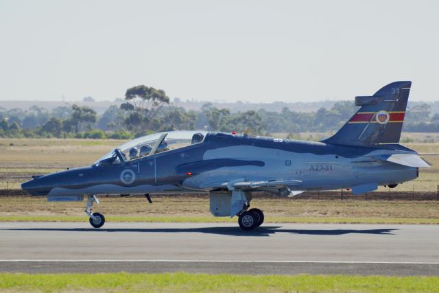 オーストラリア空軍 BAe Hawk 127 A27-31 アバロン空港  航空フォト | by ちゃぽんさん
