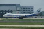 yabyanさんが、天津浜海国際空港で撮影した長城航空 747-412F/SCDの航空フォト(飛行機 写真・画像)