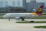 yabyanさんが、天津浜海国際空港で撮影した金鹿航空 A319-115の航空フォト(飛行機 写真・画像)