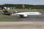 OMAさんが、成田国際空港で撮影したUPS航空 767-34AF/ERの航空フォト(写真)