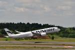 T.Sazenさんが、成田国際空港で撮影したフィンエアー A350-941の航空フォト(飛行機 写真・画像)