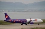 ハピネスさんが、関西国際空港で撮影した香港エクスプレス A321-231の航空フォト(飛行機 写真・画像)