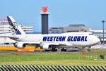 mojioさんが、成田国際空港で撮影したウエスタン・グローバル・エアラインズ 747-446(BCF)の航空フォト(飛行機 写真・画像)