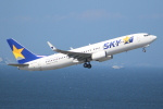 OMAさんが、羽田空港で撮影したスカイマーク 737-8ALの航空フォト(写真)