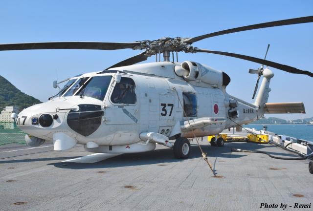 海上自衛隊 Mitsubishi SH-60K 8437 護衛艦 ひゅうが DDH-181  航空フォト | by れんしさん