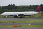 OMAさんが、成田国際空港で撮影したデルタ航空 777-232/LRの航空フォト(写真)