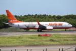 OMAさんが、成田国際空港で撮影したチェジュ航空 737-8ASの航空フォト(飛行機 写真・画像)