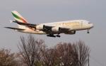 garrettさんが、成田国際空港で撮影したエミレーツ航空 A380-861の航空フォト(写真)