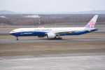 kumagorouさんが、新千歳空港で撮影したチャイナエアライン 777-309/ERの航空フォト(写真)