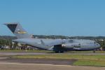 ストロベリーさんが、横田基地で撮影したアメリカ空軍 C-17A Globemaster IIIの航空フォト(写真)