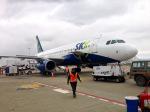 マッペケさんが、エル・アルト国際空港で撮影したスカイ・エアライン A320-233の航空フォト(写真)
