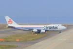 ストロベリーさんが、中部国際空港で撮影したカーゴルクス 747-4R7F/SCDの航空フォト(写真)
