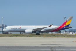 ストロベリーさんが、関西国際空港で撮影したアシアナ航空 A350-941の航空フォト(飛行機 写真・画像)