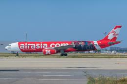 ストロベリーさんが、関西国際空港で撮影したエアアジア・エックス A330-343Eの航空フォト(飛行機 写真・画像)