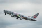 Cygnus00さんが、新千歳空港で撮影した日本航空 767-346/ERの航空フォト(写真)