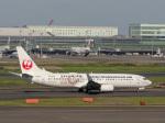 チャッピー・シミズさんが、羽田空港で撮影した日本トランスオーシャン航空 737-8Q3の航空フォト(写真)