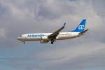 jombohさんが、フランクフルト国際空港で撮影したエア・ヨーロッパ 737-85Pの航空フォト(写真)