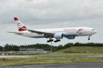 コージーさんが、成田国際空港で撮影したオーストリア航空 777-2Z9/ERの航空フォト(写真)