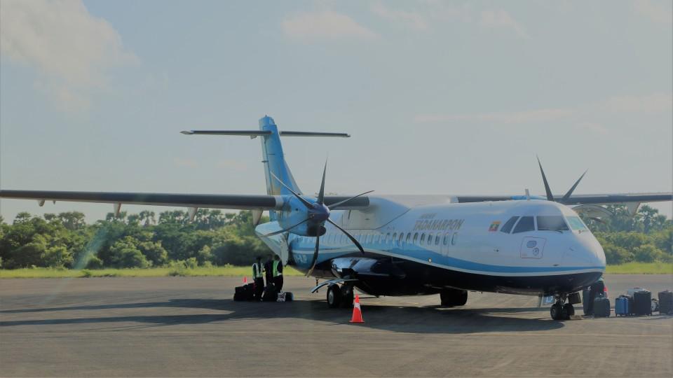 westtowerさんのマン・ヤダナルポン・エアラインズ ATR 72 (XY-AJP) 航空フォト