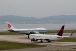 ハピネスさんが、関西国際空港で撮影したデルタ航空 767-332/ERの航空フォト(飛行機 写真・画像)
