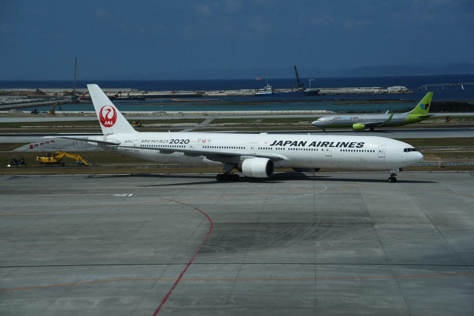 kumagorouさんの日本航空 Boeing 777-300 (JA751J) 航空フォト