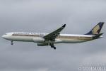 遠森一郎さんが、福岡空港で撮影したシンガポール航空 A330-343Xの航空フォト(写真)