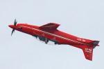 apphgさんが、シンガポール・チャンギ国際空港で撮影したピラタス・エアクラフト PC-21の航空フォト(飛行機 写真・画像)