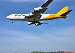 mojioさんが、成田国際空港で撮影したポーラーエアカーゴ 747-47UF/SCDの航空フォト(飛行機 写真・画像)