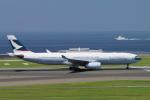 yabyanさんが、中部国際空港で撮影したキャセイパシフィック航空 A330-342Xの航空フォト(飛行機 写真・画像)