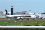 ジム寒さんが、成田国際空港で撮影したシンガポール航空 777-312/ERの航空フォト(写真)