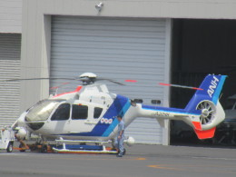 ランチパッドさんが、東京ヘリポートで撮影したオールニッポンヘリコプター EC135T2の航空フォト(飛行機 写真・画像)