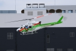 SAMBAR-2463さんが、前橋赤十字病院で撮影した群馬県防災航空隊 412EPの航空フォト(写真)