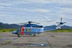 Gambardierさんが、岡南飛行場で撮影した長野県警察 AW139の航空フォト(写真)