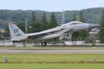 マリオ先輩さんが、横田基地で撮影したアメリカ空軍 F-15C-35-MC Eagleの航空フォト(写真)
