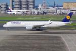 PASSENGERさんが、羽田空港で撮影したルフトハンザドイツ航空 A350-941XWBの航空フォト(写真)