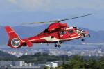 ピーチさんが、岡山空港で撮影した名古屋市消防航空隊 AS365N3 Dauphin 2の航空フォト(写真)