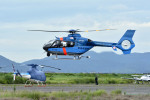 Gambardierさんが、岡南飛行場で撮影した徳島県警察 EC135T2+の航空フォト(写真)