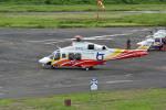 Gambardierさんが、岡南飛行場で撮影した鳥取県消防防災航空隊 AW139の航空フォト(写真)