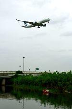 まいけるさんが、スワンナプーム国際空港で撮影したキャセイパシフィック航空 A350-941XWBの航空フォト(写真)