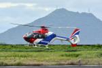 Gambardierさんが、岡南飛行場で撮影した毎日新聞社 EC135T1の航空フォト(写真)