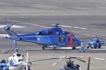 Orange linerさんが、名古屋飛行場で撮影した鹿児島県警察 AW139の航空フォト(写真)