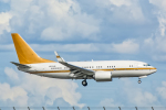 SGR RT 改さんが、羽田空港で撮影した南山公務 737-7ZH BBJの航空フォト(写真)