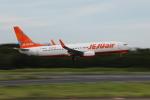 VEZEL 1500Xさんが、成田国際空港で撮影したチェジュ航空 737-8ASの航空フォト(写真)