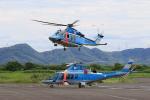 しょうせいさんが、岡南飛行場で撮影した三重県警察 A109E Powerの航空フォト(写真)