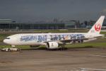 チャッピー・シミズさんが、羽田空港で撮影した日本航空 777-289の航空フォト(写真)