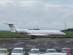 sp3混成軌道さんが、岡山空港で撮影したウェルズ・ファーゴ・バンク・ノースウェスト G-V-SP Gulfstream G550の航空フォト(写真)